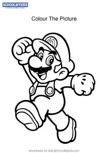 Mario - Super Mario Coloring Pages