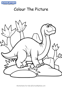 Baby Dinosaur - Dinosaur Coloring Pages