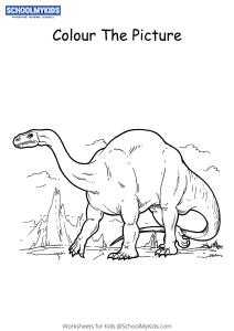Plateosaurus Dinosaur - Dinosaur Coloring Pages