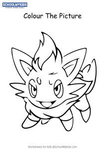Pokemon Lillipup - Pokemon Coloring Pages