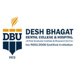 Desh Bhagat Dental College & Hospital, Muktsar Logo