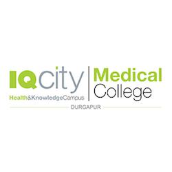 IQ-City Medical College, Burdwan Logo