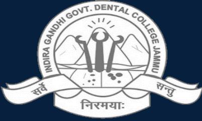 Indira Gandhi Government Dental College, Jammu Logo