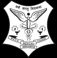MKCG Medical College, Berhampur Logo