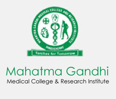 Mahatma Gandhi Medical College & Research Institute, Pondicherry Logo