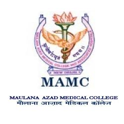 Maulana Azad Medical College, New Delhi Logo