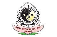 Pandit Deendayal Upadhyay Medical College, Rajkot Logo