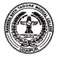 RNT Medical College, Udaipur Logo