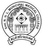 Smt. N.H.L.Municipal Medical College, Ahmedabad Logo