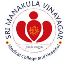 Sri Manakula Vinayagar Medical College & Hospital, Pondicherry Logo