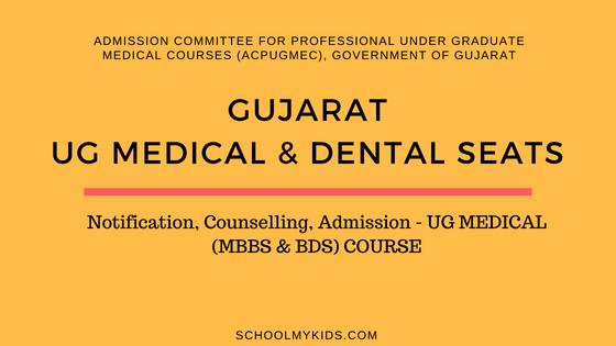 Gujarat UG MBBS & BDS Admission – Gujarat NEET Counselling, Registration, Merit List, Cut off Rank, Detailed information Medical and Dental Colleges