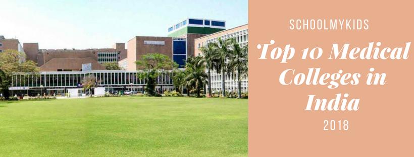 Top 10 Medical Colleges in India | SchoolMyKids