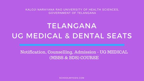 Telangana UG MBBS & BDS Admission 2019 – Telangana NEET Counselling, Registration, Merit List, Cut off Rank