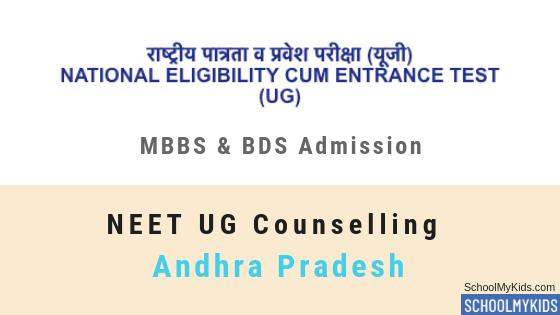 Andhra Pradesh UG MBBS & BDS Admission 2019 – AP NEET Counselling, Registration, Merit List, Cut off Rank