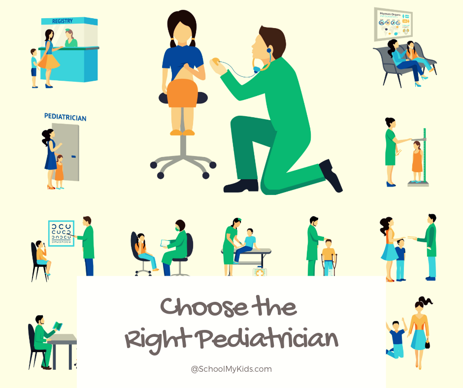 How to Choose the Right Pediatrician for your Child