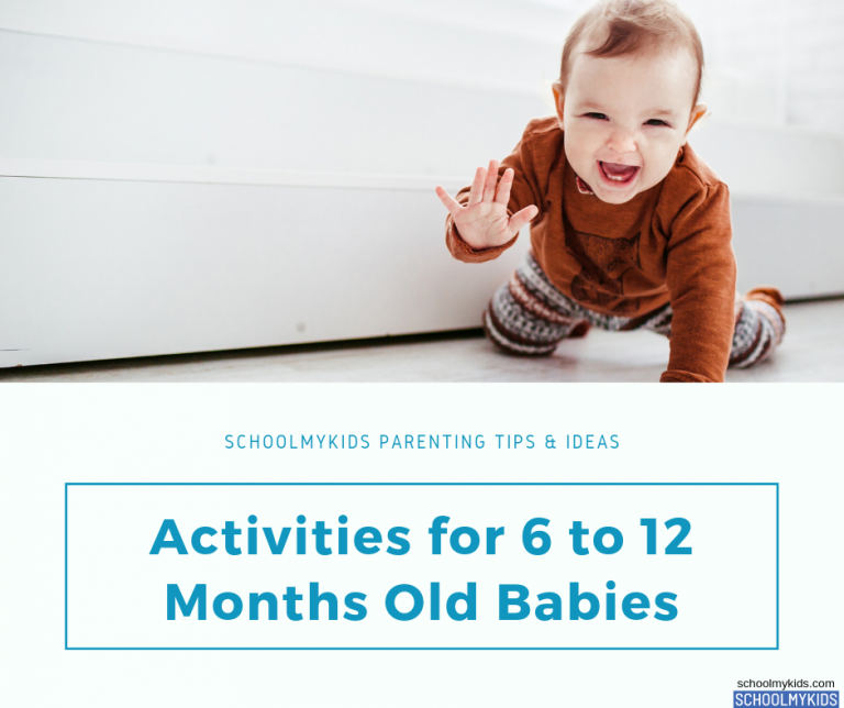 Best Summer Activities for 6 to 12 Months Old Babies