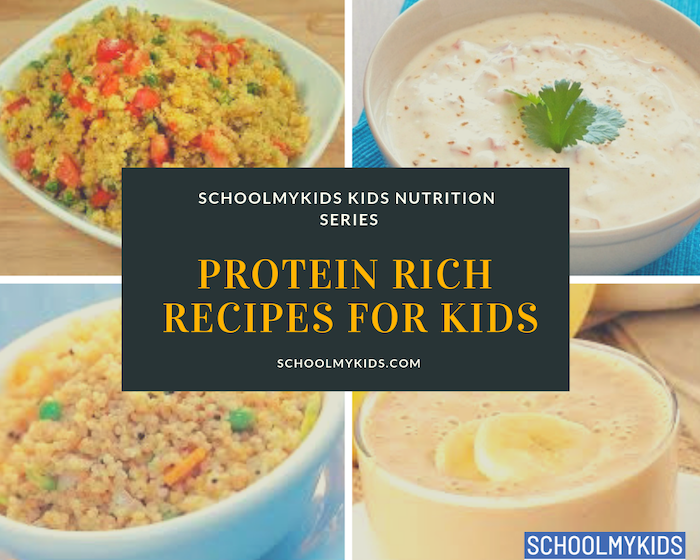 Vegetarian Protein Rich Recipes for Kids, Protein rich food for kids