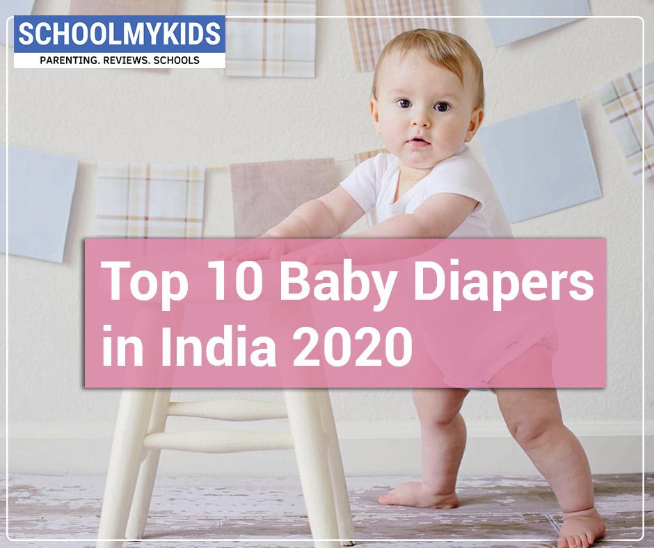 Top 10 Best Baby Diapers in India 2020