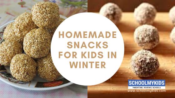 5 Homemade Snacks for Kids in Winter