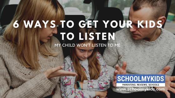 My child just won't listen to me! |Tips when your Child Won't Listen