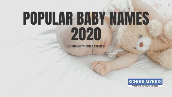 Top 10 Popular Baby Names in India 2020