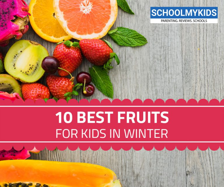 10 Best Fruits for Kids in Winter