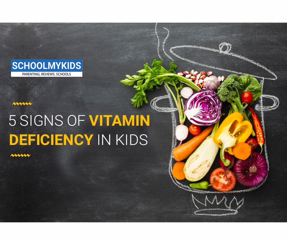 5 Signs Of Vitamin Deficiency In Kids