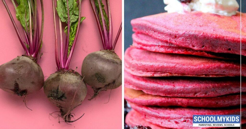 Mini Beetroot Pancake Recipe for Kids