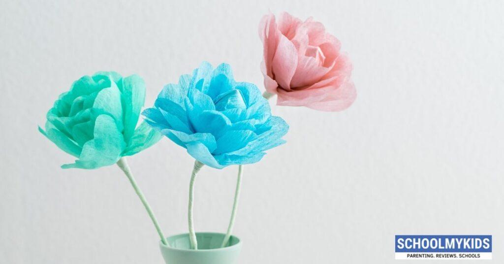 DIY Crepe Paper Flowers – Easy DIY Tutorial
