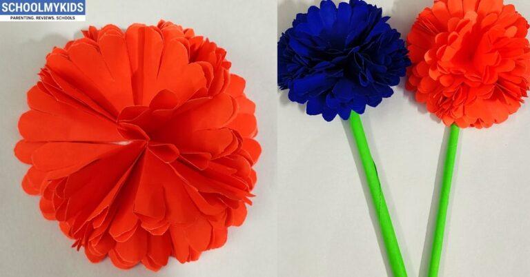 Easy 3D Paper Flowers