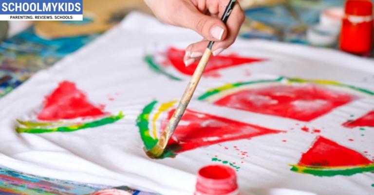 Fabric Painting Art For Kids Easy Fabric Paint Ideas Schoolmykids