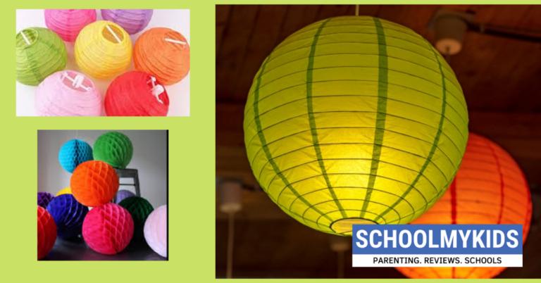 How to make Paper Lantern Ball-DIY Paper Lantern Decor