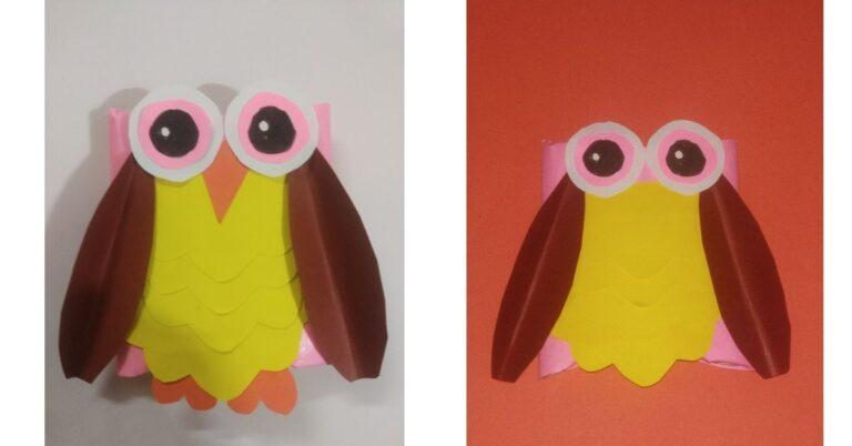Toilet Paper Roll Owls – DIY Crafts for Kids