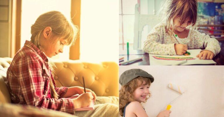 अपने बच्चे की रचनात्मकता को बढ़ाएं 8 इन तरीकों से