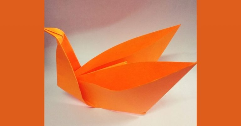 How to Make a Paper Crane – Origami Crafts