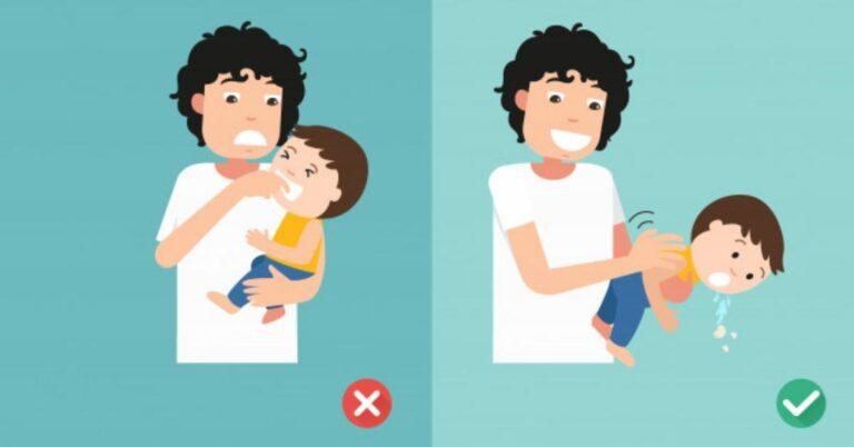 छोटे बच्चों में गला घुटने के जोखिम को कैसे करें कम