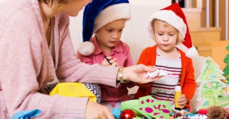 How to Make Paper Santa – Santa Crafts for Kids