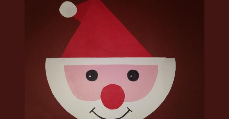 DIY Santa Claus Paper Toy