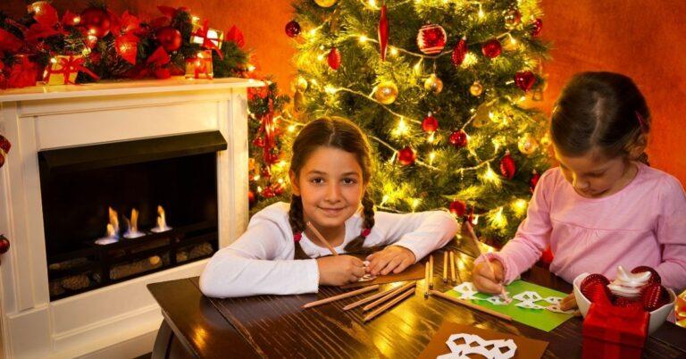 Handmade 3D Snowman Christmas Card for Kids