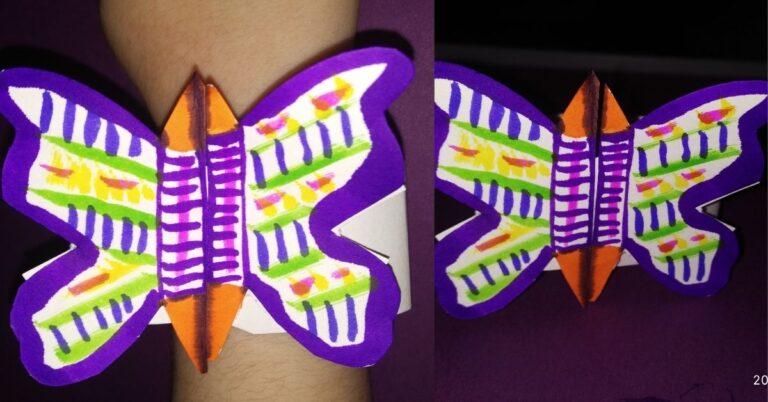 DIY Butterfly Bracelets for Kids